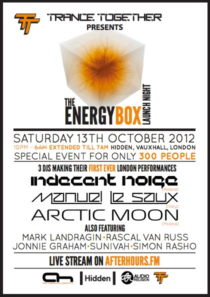 Manuel Le Saux Live At The Energy Box London UK 13 Oct 2012